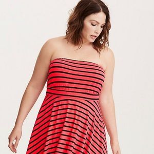 torrid Dresses - MOVING SALE - STRIPED TUBE DRESS
